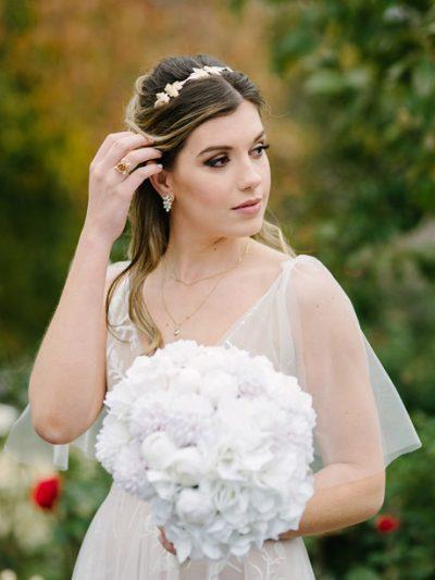 Bridal headbands boho style
