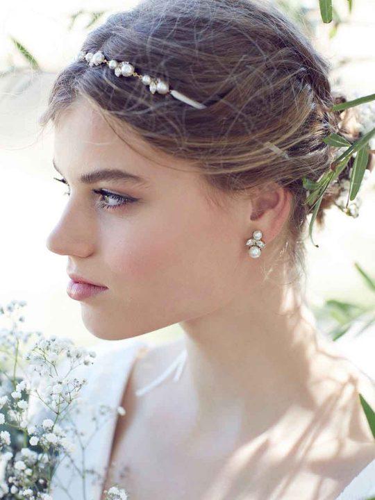 Mildura bride earrings
