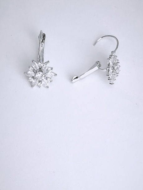 Starburst wedding earrings Australia
