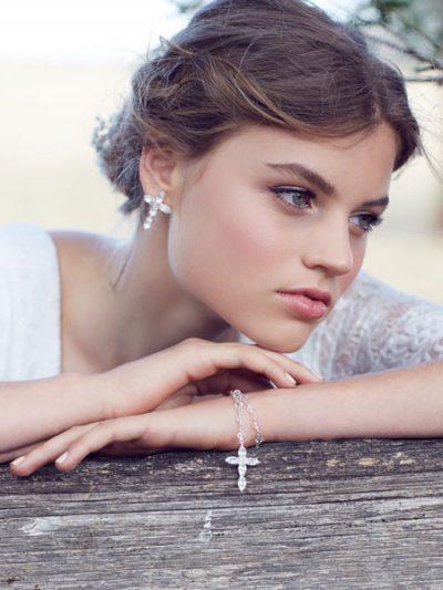 Faith rosary bracelets