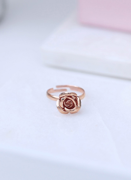 Rose gold ring Melbourne jewellery set