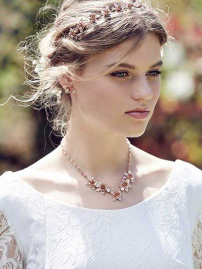 Flower earrings Sydney style