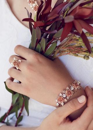 Sydney bridal bracelet