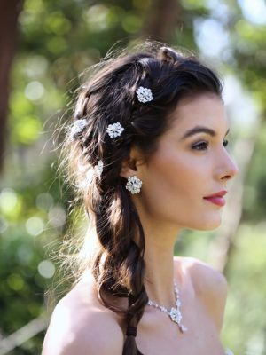 bohemain chic wedding earrings