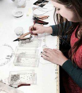 Making bridal jewelry