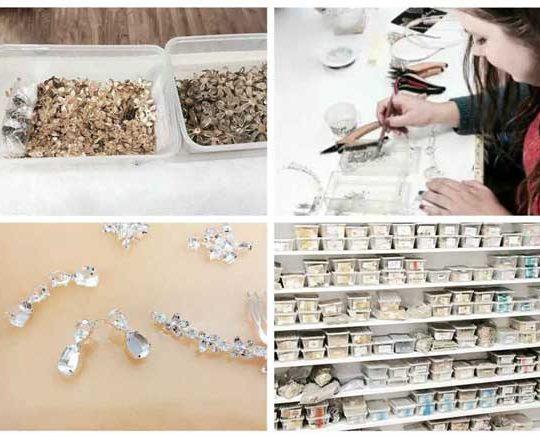 Bridal jewellery studio tour