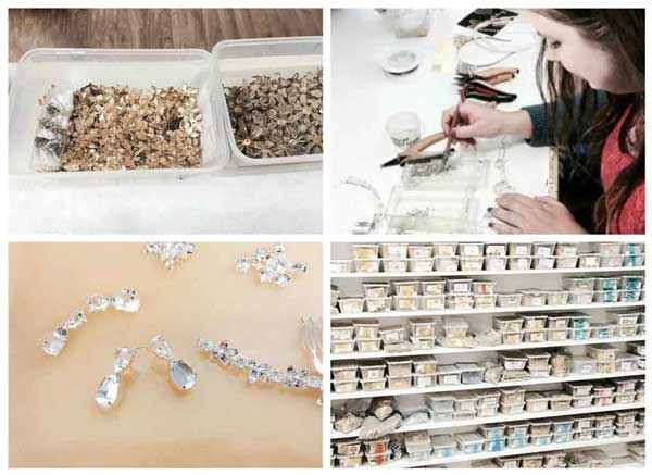 Bridal jewellery studio tour