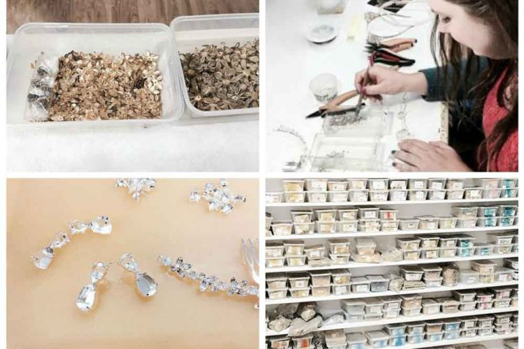 Bridal jewelry studio tour