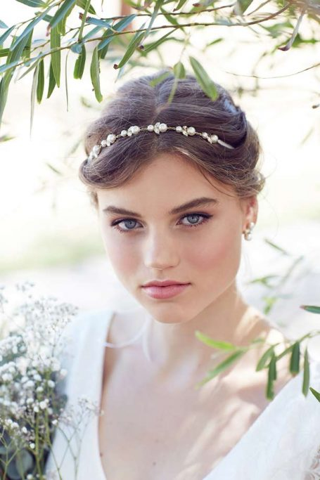 Pearl wedding Hair Vine Mildura