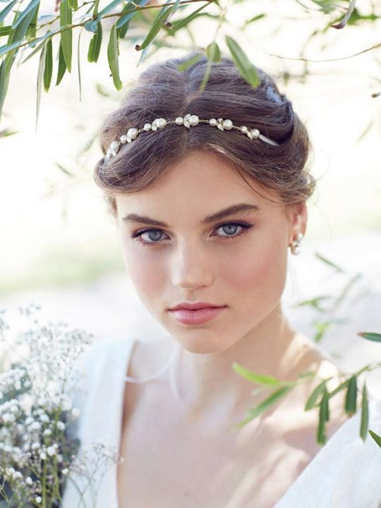 Pearl wedding Hair Vine Mildura
