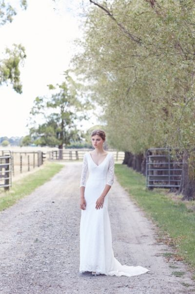 Broome country lace wedding dresses