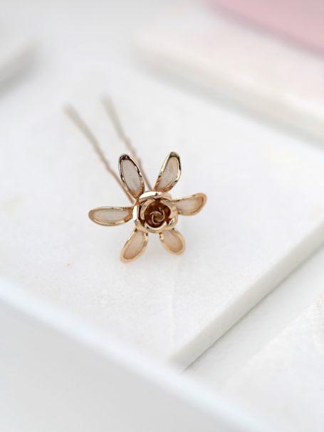 Gold Adelaide wedding hair pins