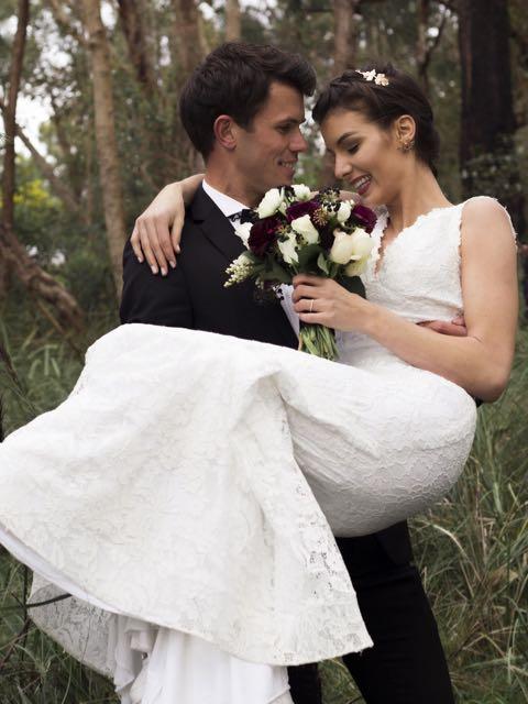 Spring time romance lace wedding dresses