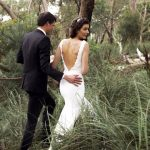 bohemian fitted wedding dresses lace