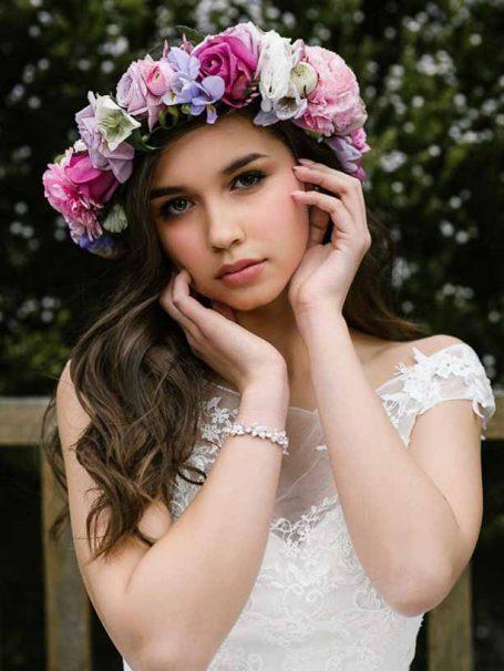 Eden silver wedding braclet