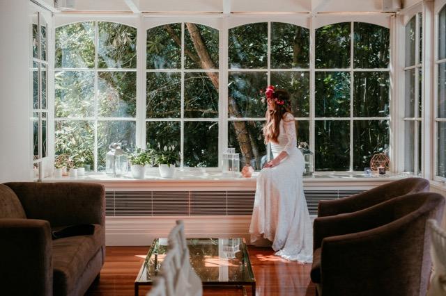 Bride at Dandenongs weddings