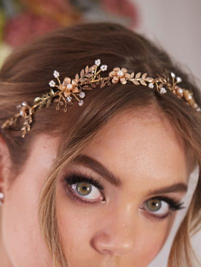 Jewelry Hair vines in gold