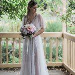 Bohemian Tulle Wedding Dress