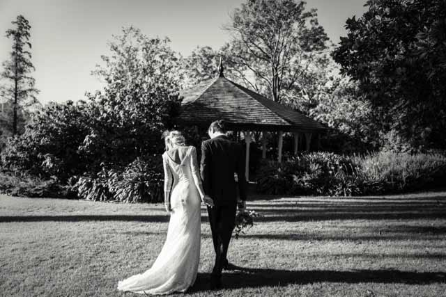 Garden wedding dresses botanical gardens wedding