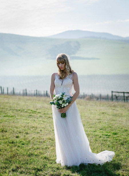 Australian bohemian wedding dresses