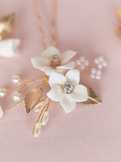 quality hair pins for bride