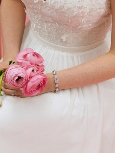 Sophia Wedding dress bracelet bracelet
