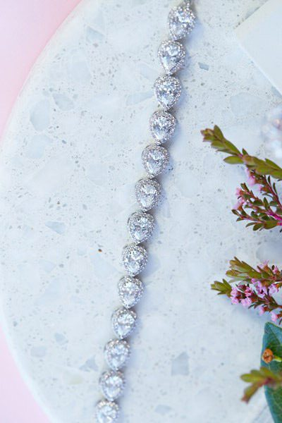Sophia special occasion wedding dress bracelet