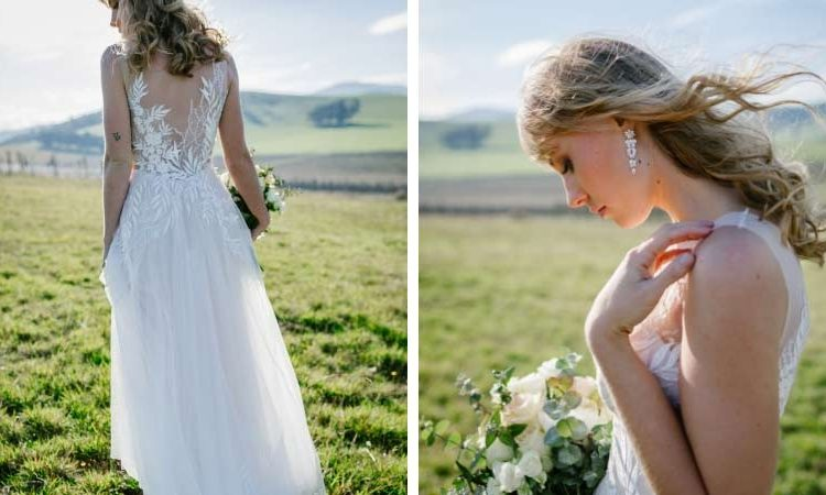Erica romantic wedding dresses