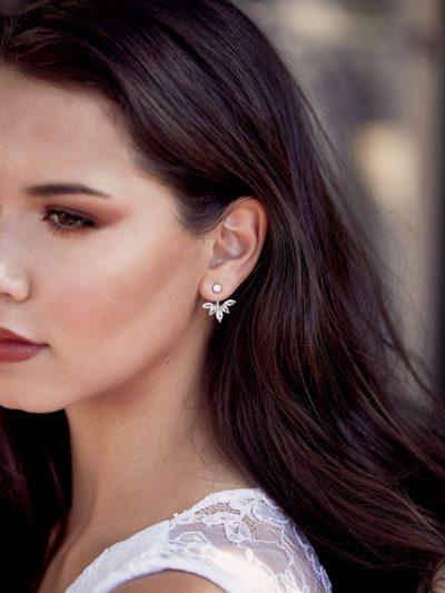 jacket style earrings