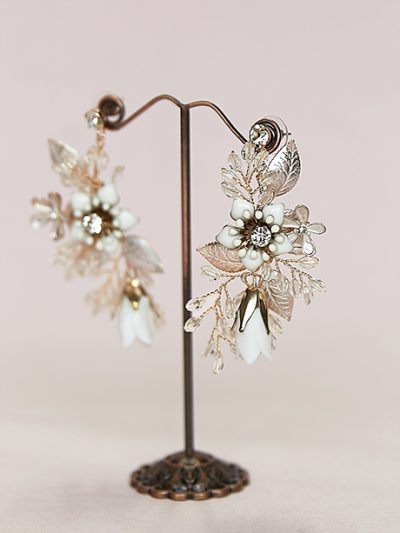 Unique dream catcher earrings