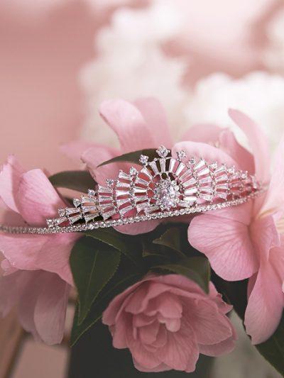 Art Deco Inspired vintage Tiara