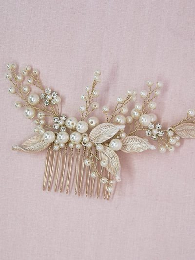 vintage style wedding comb