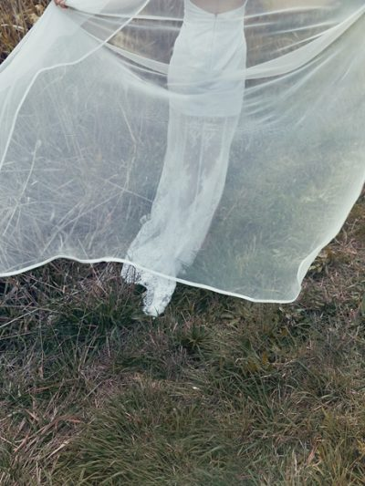 long wedding veils in Melbourne