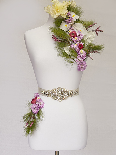 Elegant bridal belt for sale