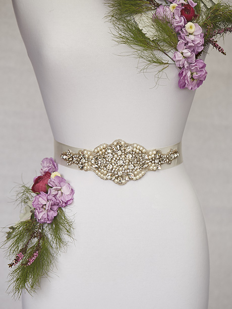 Elegant wedding belt