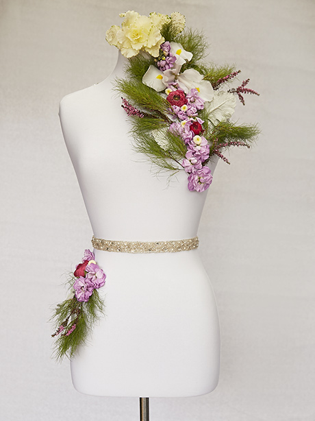 classic beaded bridal belt
