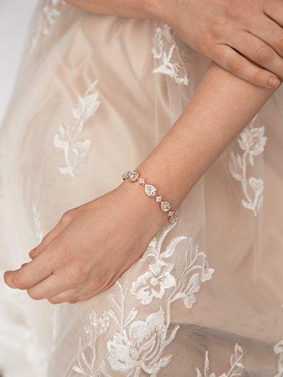 Aria rose gold bracelet