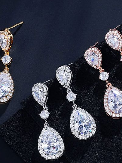 Aria popular wedding jewellery set earrings
