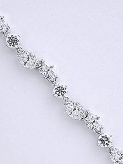 Sparkly evening bracelets