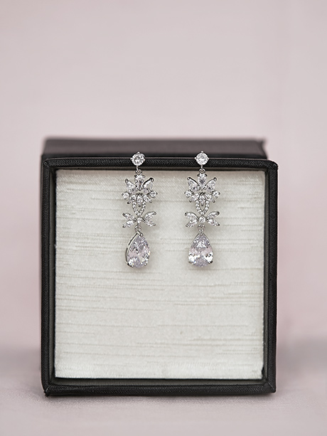 Jewellery pretty boho bridal earrings