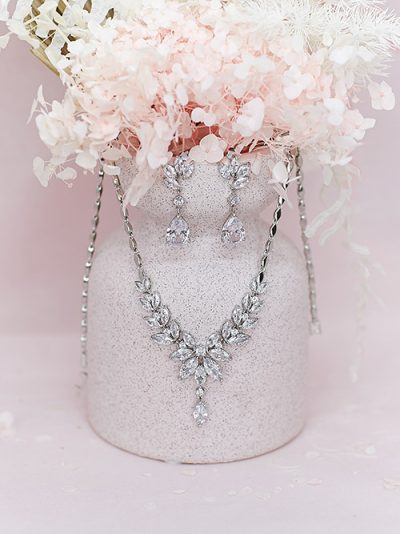 Bridal jewellery set Windsor