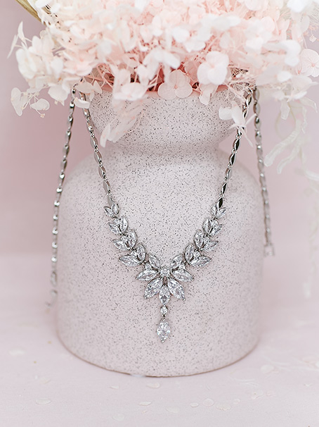 Windsor elegant bridal necklace