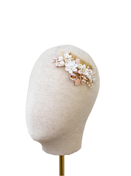 Wedding side hair comb bridal jewellery