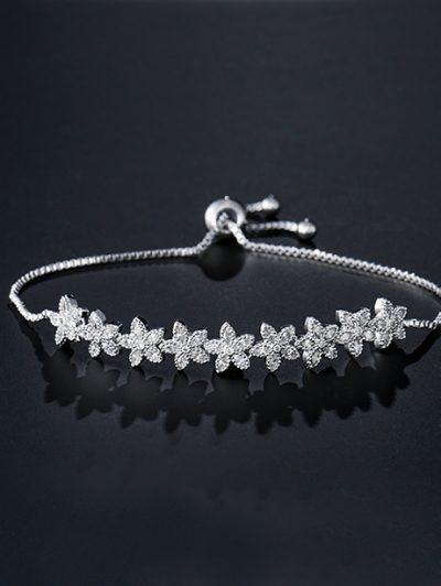 Floral bridesmaids bracelet Layla Jewellery