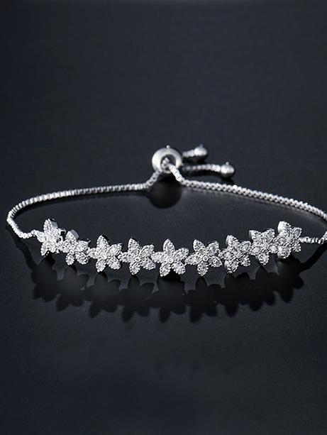 Floral bracelet Layla Jewellery