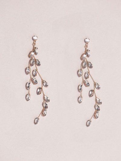 Waterfall earrings unique jewellery