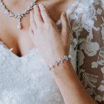 beautiful pearl wristlets