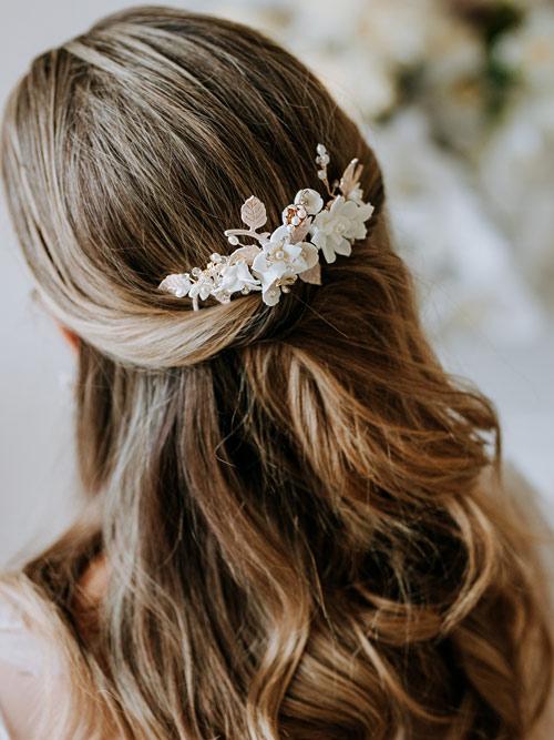 lovely hair comb for wedding
