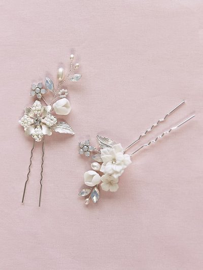 Hair accessory pretty pair hair clips