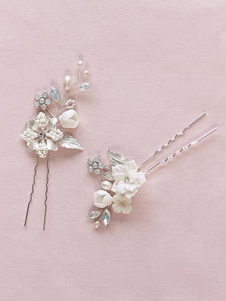 Hair accessory pretty pair hair clips